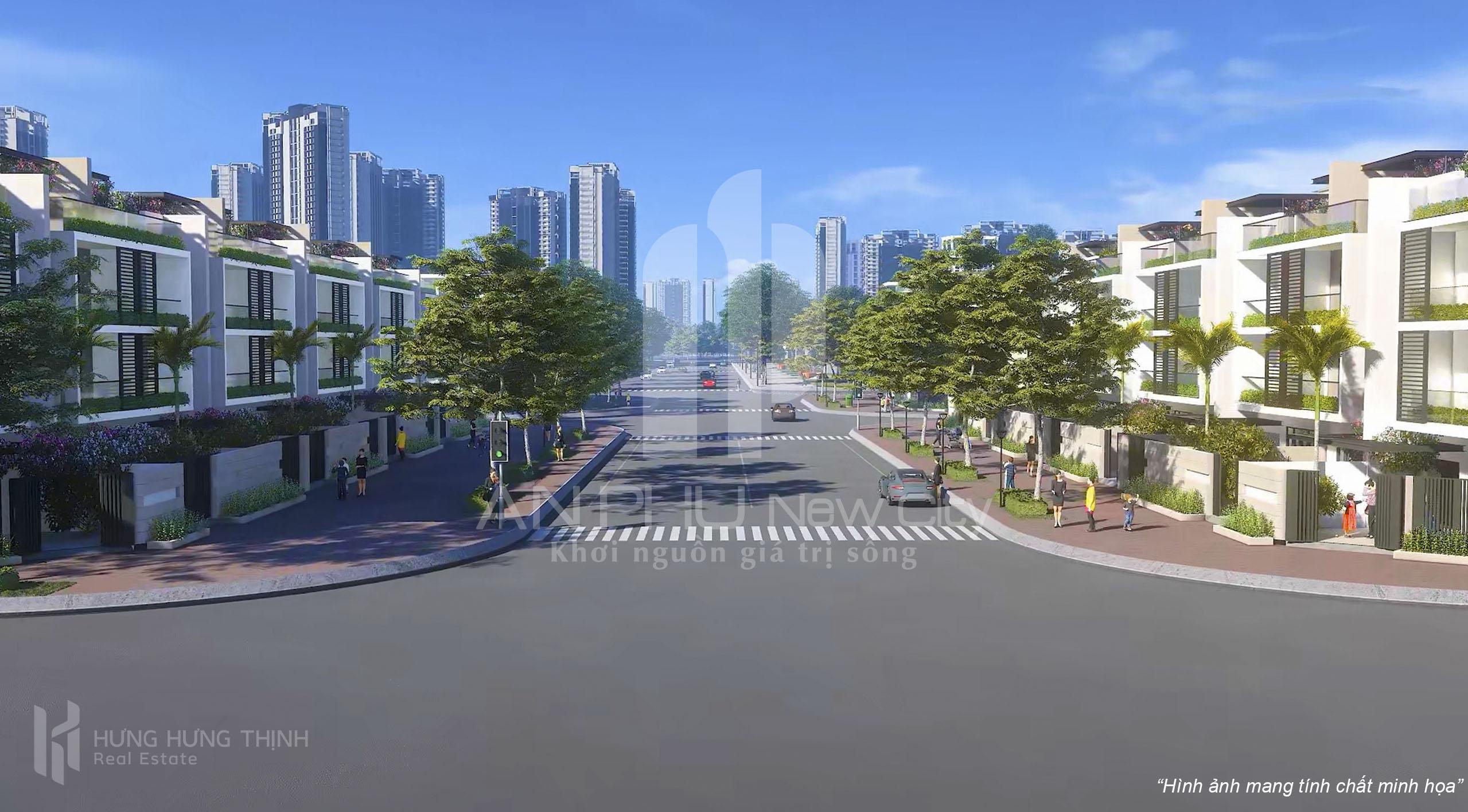 Bốn điểm nhấn đầu tư tại An Phu New City
