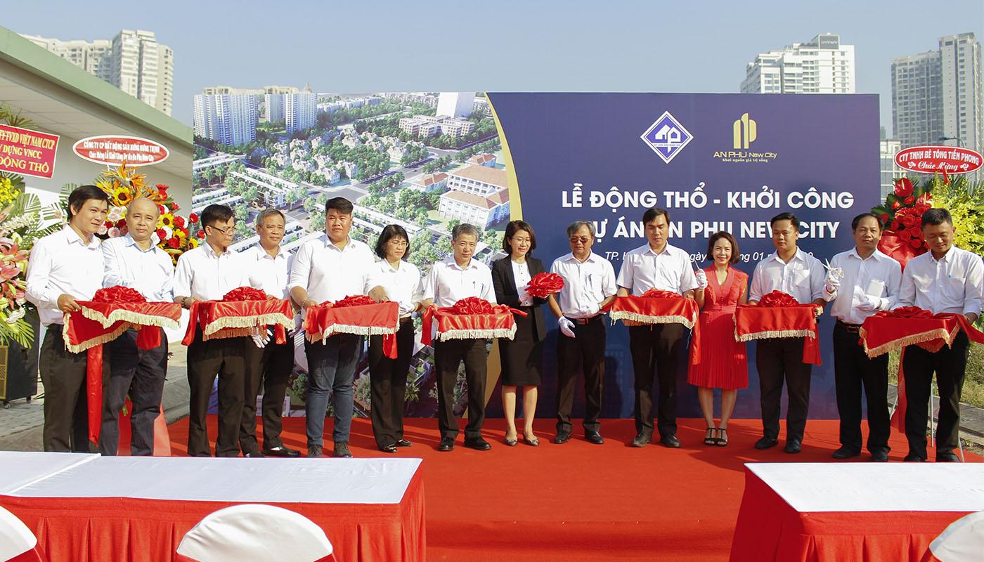 Lễ động thổ - khởi công xây dựng Dự án An Phu New City